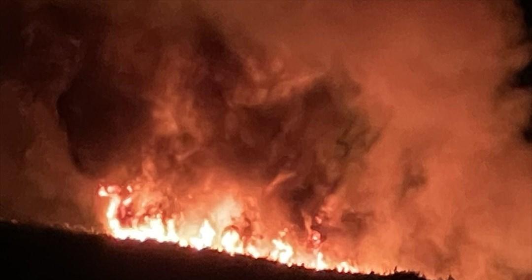 Κερατέα: Νέα πυρκαγιά τα ξημερώματα στο Δασκαλειό
